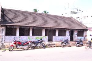 Voruganti Sadan, Front view